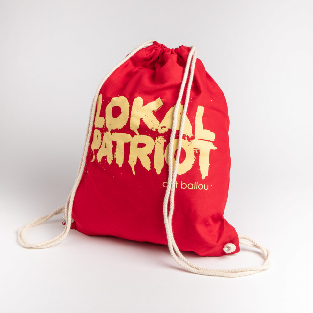 Rucksack Lokalpatriot Rot (Shop Art-No. a0006) | Cat Ballou