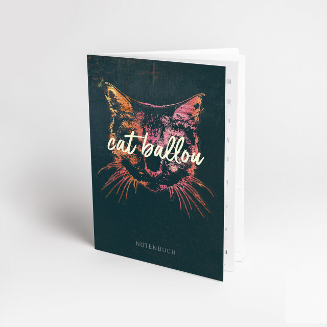 Notenbuch ,,cat ballou (Shop Art-No. b0002) | Cat Ballou