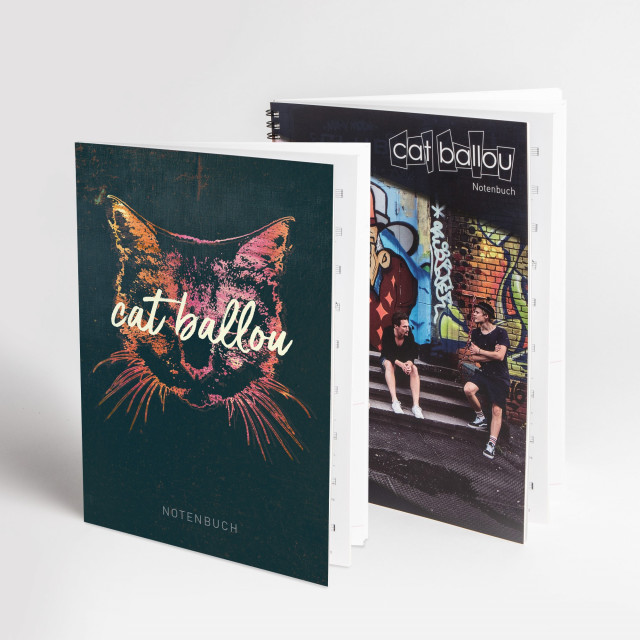 Notenbuch ,,cat ballou + Notenbuch ,,Alt (Shop Art-No. b0003) | Cat Ballou