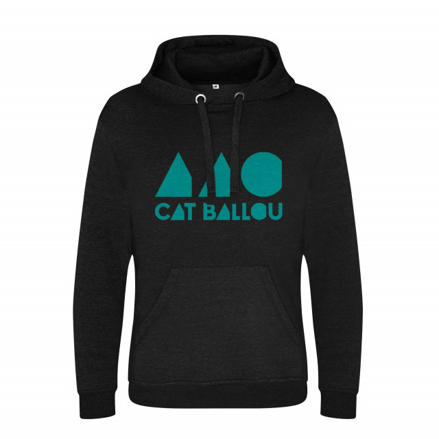 Cat Ballou Logo Hoodie, schwarz (Shop Art-No. cbH00004) | Cat Ballou