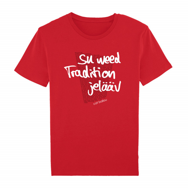 Shirt Song-Text Tradition (Shop Art-No. cbS00032) | Cat Ballou