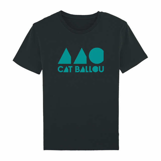 Cat Ballou Logo Shirt, unisex, schwarz (Shop Art-No. cbS0035) | Cat Ballou